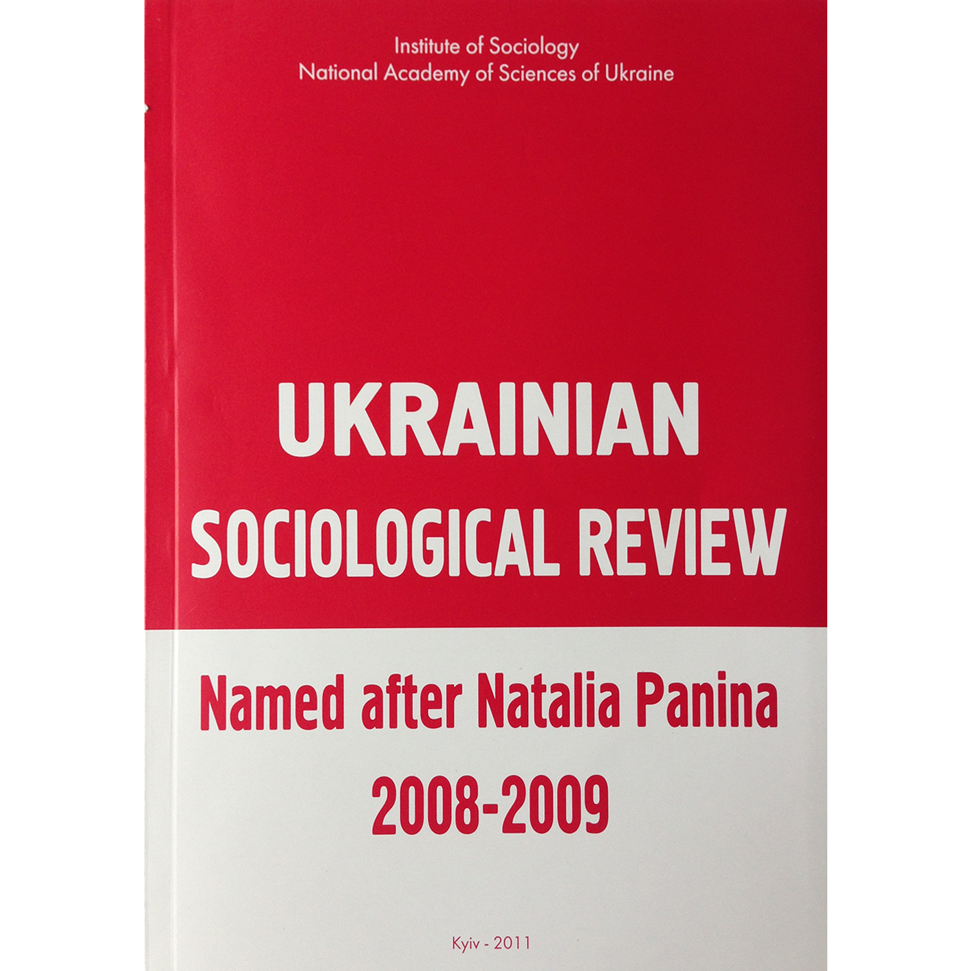 The Occupational Structure of Ukrainian Society in Time and Comparative Perspectives